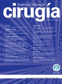 Cover image for Revista Chilena de Cirugía