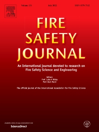 Cover image for Fire Safety Journal