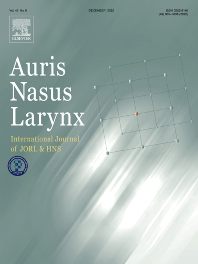 Cover image for Auris Nasus Larynx