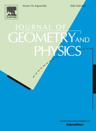 Cover image for Journal of Geometry and Physics