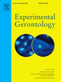 Cover image for Experimental Gerontology