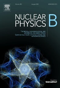 cover of Nuclear Physics B