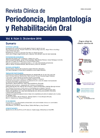 Cover image for Revista Clínica de Periodoncia, Implantología y Rehabilitación Oral