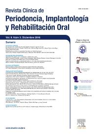 Cover image for Revista Clínica de Periodoncia, Implantología y Rehabilitación Oral