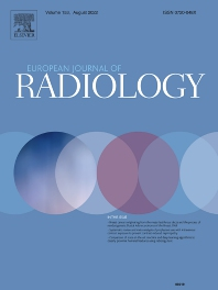 cover of European Journal of Radiology