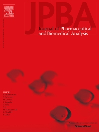 Cover image for Journal of Pharmaceutical and Biomedical Analysis