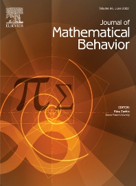 Cover image for The Journal of Mathematical Behavior