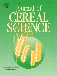 Cover image for Journal of Cereal Science