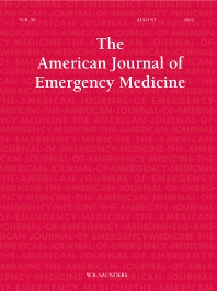 Cover image for American Journal of Emergency Medicine