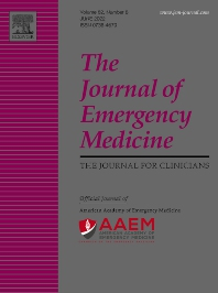 Cover image for The Journal of Emergency Medicine