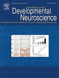 Cover image for International Journal of Developmental Neuroscience