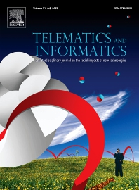 Cover image for Telematics and Informatics