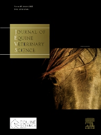 Cover image for Journal of Equine Veterinary Science
