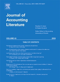 Cover image for Journal of Accounting Literature