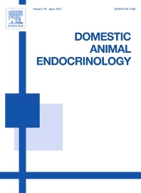 Cover image for Domestic Animal Endocrinology