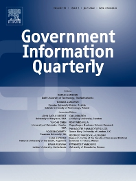 cover of Government Information Quarterly