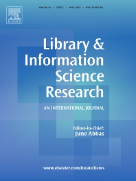 Cover image for Library & Information Science Research