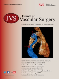 Cover image for Journal of Vascular Surgery