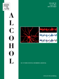 Alcohol - ISSN 0741-8329