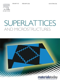Superlattices and Microstructures - ISSN 0749-6036