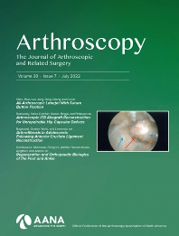 Arthroscopy - ISSN 0749-8063
