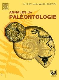 cover of Annales de Paléontologie