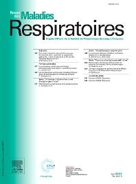 Cover image for Revue des Maladies Respiratoires