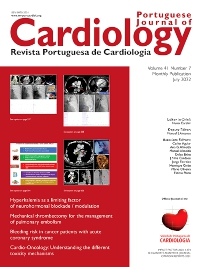 Cover image for Revista Portuguesa de Cardiologia