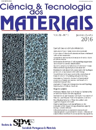 Cover image for Science and Technology of Materials