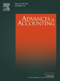 Advances in Accounting - ISSN 0882-6110