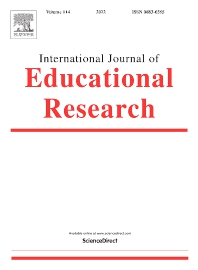 Cover image for International Journal of Educational Research