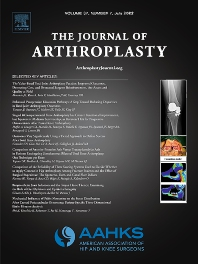 Cover image for Journal of Arthroplasty