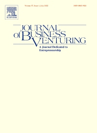 Journal of Business Venturing - ISSN 0883-9026