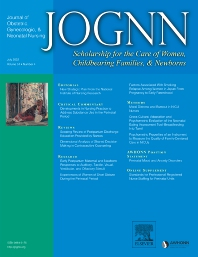 Journal of Obstetric, Gynecologic & Neonatal Nursing - ISSN 0884-2175