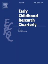 Early Childhood Research Quarterly - ISSN 0885-2006