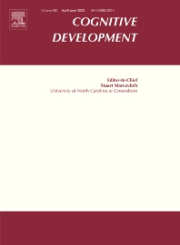 Cognitive Development - ISSN 0885-2014