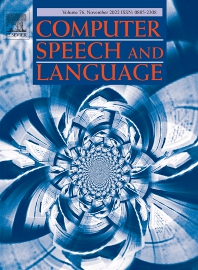 Cover image for Computer Speech and Language