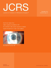 Cover image for Journal of Cataract & Refractive Surgery®