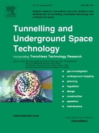 Cover image for Tunnelling and Underground Space Technology