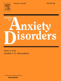 Journal of Anxiety Disorders - ISSN 0887-6185