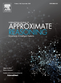 Cover image for International Journal of Approximate Reasoning