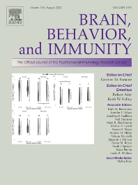 Brain, Behavior, and Immunity - ISSN 0889-1591