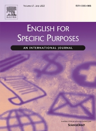 English for Specific Purposes - ISSN 0889-4906