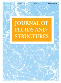 Cover image for Journal of Fluids and Structures