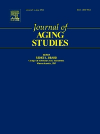 Cover image for Journal of Aging Studies