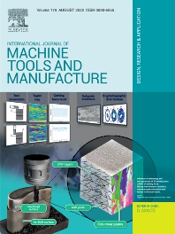 Cover image for International Journal of Machine Tools and Manufacture