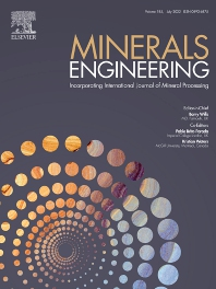 Cover image for Minerals Engineering