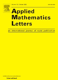 Applied Mathematics Letters - ISSN 0893-9659