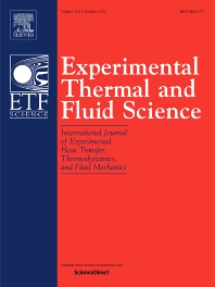 Cover image for Experimental Thermal and Fluid Science