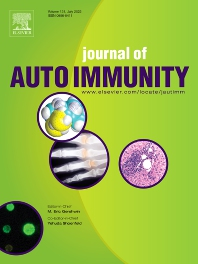 Cover image for Journal of Autoimmunity